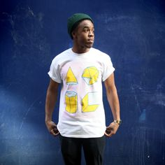 Stu Ross - Study of Shapes tee for Super Superficial