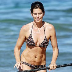 Super Model, Cindy Crawford, looking...well...NORMAL!
