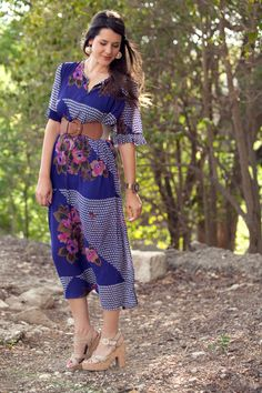 Aje liberty maxi dress