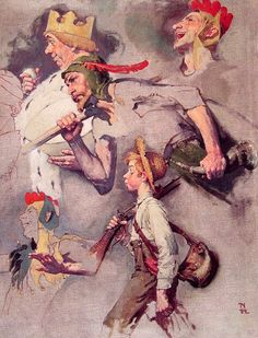 The Land Of Enchantment     Norman Rockwell