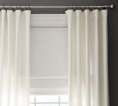Emery Linen/Cotton Cordless Roman Shade