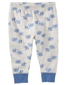 Pull-On Elephant Pants