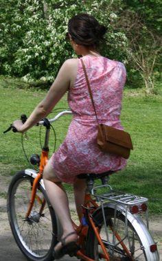 On my bike in Berlin