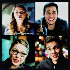 "Mon-El's expression whenever Kara asks him if he likes her is classic. You can practically hear him thinking, ""Be cool. Be cool. BE COOL."" (And then he fails miserably.) 