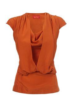 Vivienne Westwood Orange Bluegrass Top