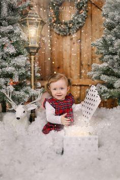 Woodland Christmas, Christmas Minis, Diy Christmas Tree, Babies First Christmas, Outdoor Christmas, Family Christmas, Pink Christmas Decorations, Christmas Settings, Holiday Pictures