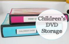 children's dvd storage