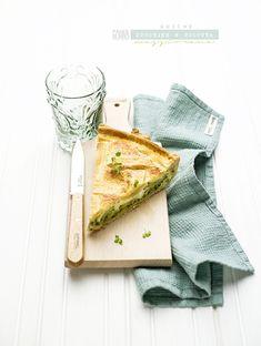 pane&burro: Quiche con zucchine ricotta e maggiorana