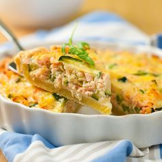 Quiche au saumon et au fromage frais