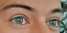 When someone asks me what my favorite color is I'm going to say Harry's eyes.