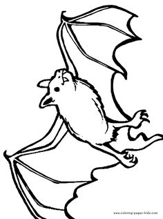 bat coloring bats animal coloring pages color plate coloring sheet printable - Printable Bat Coloring Pages