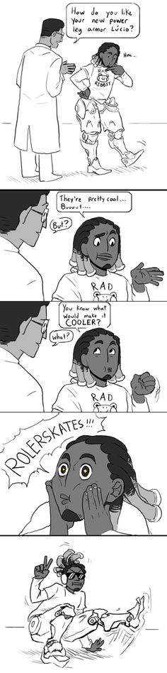How Lucio Got His Skates