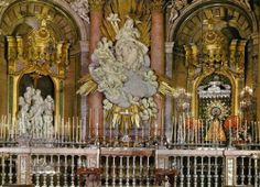 The Basilica of Our Lady of the Pillar, Zaragoza, Spain | ... chapel of our lady of the pillar in the basilica of the same name in