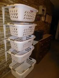 Image result for sorting clothes baskets
