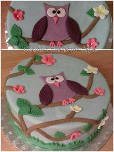 Eulentorte   Owl Cake