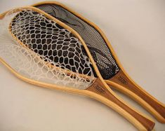 Fly Fishing Landing Net - Lariat Model - Fine Wood - Handcrafted in Wisconsin - Ready to Ship Gift Fly Fishing Net, Best Fishing, How To Bend Wood, Landing, Model, Woodworking, Bow, Etsy, Sports