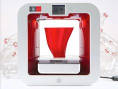 3D Systems & Coca-Cola present EKOCYCLE Cube 3D printer that prints in recycled bottles