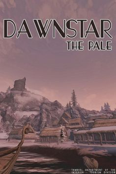 dawnstar, skyrim by scifitographer, via Flickr