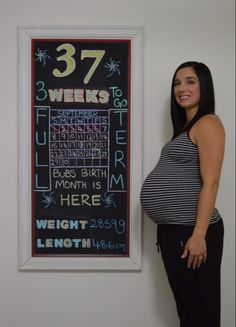37 weeks pregnant @Lora Covington this might be cute once it is march!
