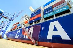 JORNAL REGIONAL EXPRESS: Gigante chinês, maior porta-contêiner do mundo pas...