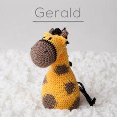 Freshka Design - The cuteness-webstorezzzz Crochet Animals, Crochet Toys, Giraffe, Beanie, Hats, Design, Amigurumi, Tejidos, Figurine
