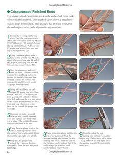 Искусство из проволоки Wire Wrap bracelet pict.2