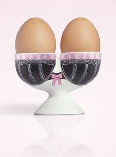 Breast cancer egg cup