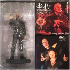 The Buffy & Angel Figurine Collection - Number 4 - The Master. Lead figurine and magazine. #btvscollector #btvs #buffy #buffythevampireslayer