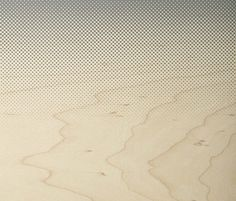 Glasswood | Blur Ocean by Conglomerate | Decorative glass