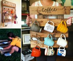 Pallet Coffee Mug Holder Tutorial