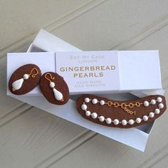 Gingerbread Jewellery Biscuits