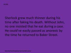 I also see John running out to punch him, then stop suddenly, as he sees that Sherlock has lost a LOT of weight Sherlock Holmes Bbc, Sherlock Fandom, Sherlock Mrs Hudson, Sherlock John, 221b Baker Street, Arthur Conan Doyle, John Watson, Johnlock, Martin Freeman