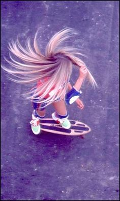 movement - would love to skateboard!