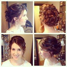 Peachy Wedding Updo Updo And Hairstyles On Pinterest Short Hairstyles Gunalazisus