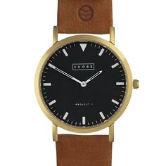 NEW: Shore Projects Watch - St Ives Leather Tan (twistedtime.com)