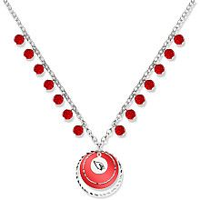 Wondering what to wear on gameday and still look cute?  How about this Arizona Cardinals gameday necklace.
