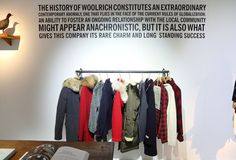 #Woolrich John Rich & Bros Women's FW13 collection. #fashion #style #parka #pitti