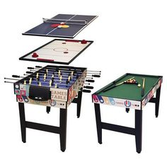 10 In 1 Game Table GT10167 | BIG W | Christmas Gift Ideas | Pinterest | Game  Tables And Gaming
