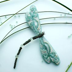 beautiful beaded dragonfly