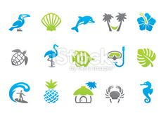 Tropical iconset