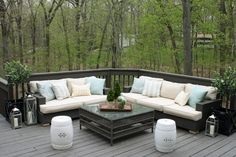 Restoration Hardware Outdoor Cushions