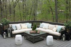Restoration Hardware Outdoor Cushions