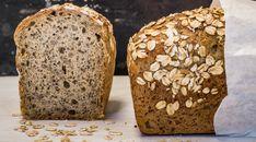 Dinkel-Joghurt-Brot mit Haferflocken - Rezept | Swissmilk Bread, Food, Spelt Bread, Plain Yogurt, Fruits And Veggies, Recipes, Oats Recipes, Brown Bread, Baking