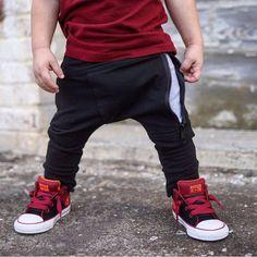Hipster boy clothes/Boys harem pants /Trendy by PoshKiddosapparel