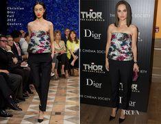 Natalie Portman In Christian Dior Couture – 'Thor: The Dark World' New York Screening