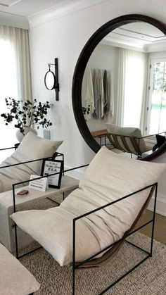 Home Living Room, Apartment Living, Living Room Designs, Living Room Decor, Bedroom Decor, Bedroom Chair, Teen Bedroom, Living Room Inspiration, Home Decor Inspiration