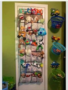 I love this idea. I would like to place it behind the door. We don't have doors on the closet.