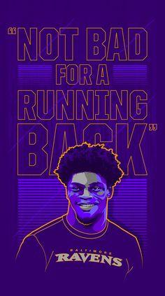 Lamar Jackson - Illustration on Behance Nfl Football Teams, Best Football Team, Football Design, Football Art, Nba Basketball, Lamar Jackson Wallpaper, Baltimore Ravens Wallpapers, Lamar Jackson Ravens, Irving Wallpapers