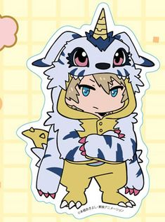 AmiAmi [Character & Hobby Shop] | Digimon Adventure tri. - Diecut Sticker (2) Yamato Ishida(Pre-order)