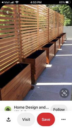 Cheap Privacy Fence, Privacy Fence Designs, Garden Privacy, Outdoor Privacy, Privacy Walls, Garden Fencing, Privacy Screens, Garden Beds, Privacy Planter